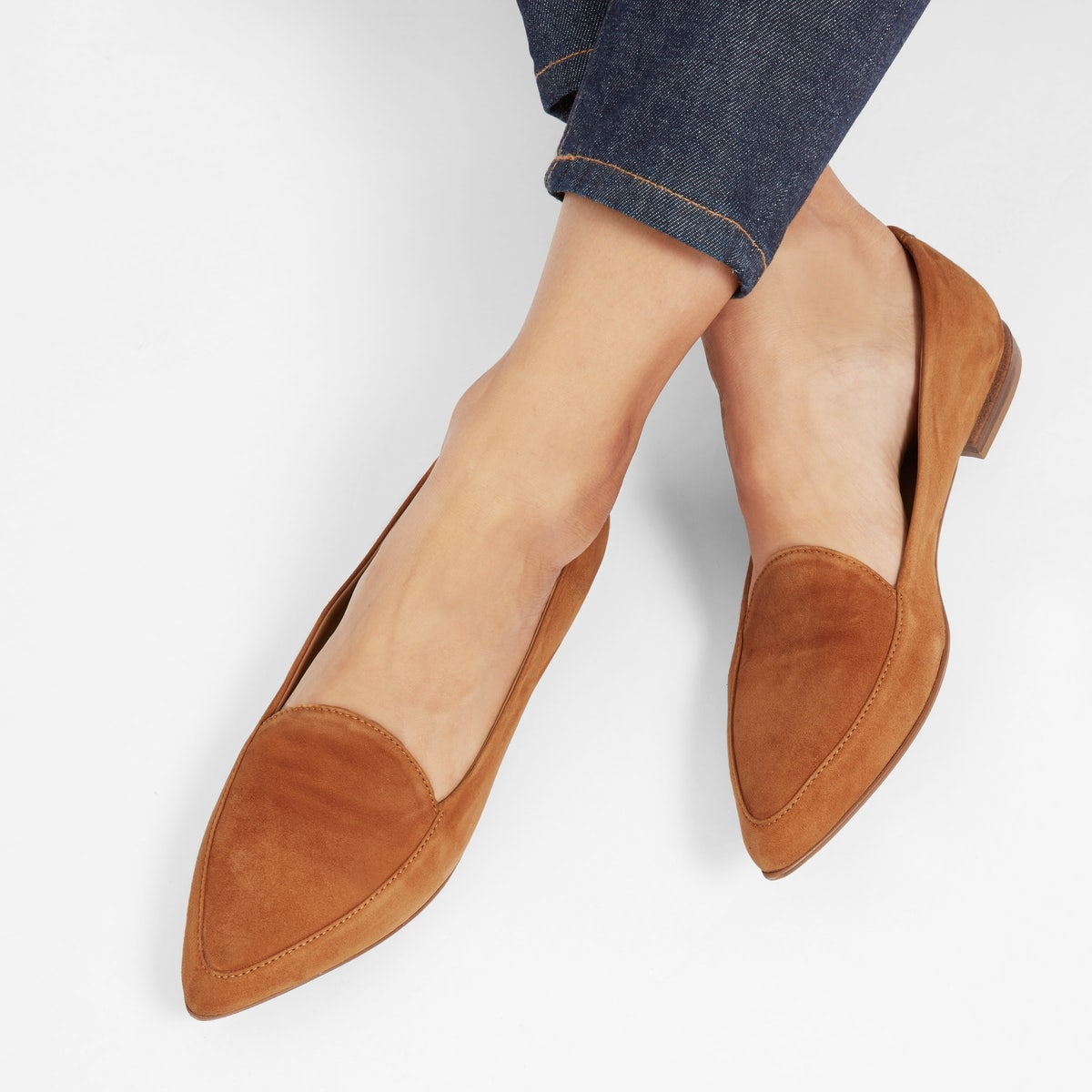 Everlane Modern Point Flat Review